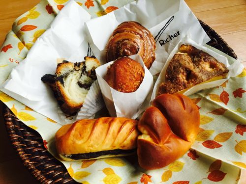 La Boulangerie Richer ラ ブランジェ リシェでのお買い物♪