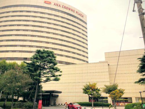 ANAクラウンプラザホテル新潟 外観