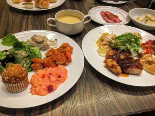 ANAクラウンプラザホテル新潟 シーズンカフェ ビュッフェ