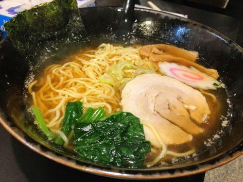 麺処拾弐 古町 ラーメン屋 醤油ラーメン