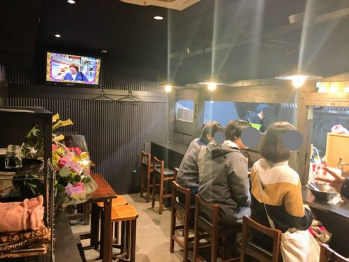 麺処拾弐 古町 ラーメン屋 内観